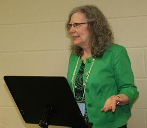 N. J. teaching a 6-hour class at Write! Canada 2012